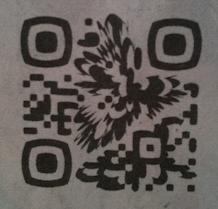 Quand QRcodes & design font bon ménage.