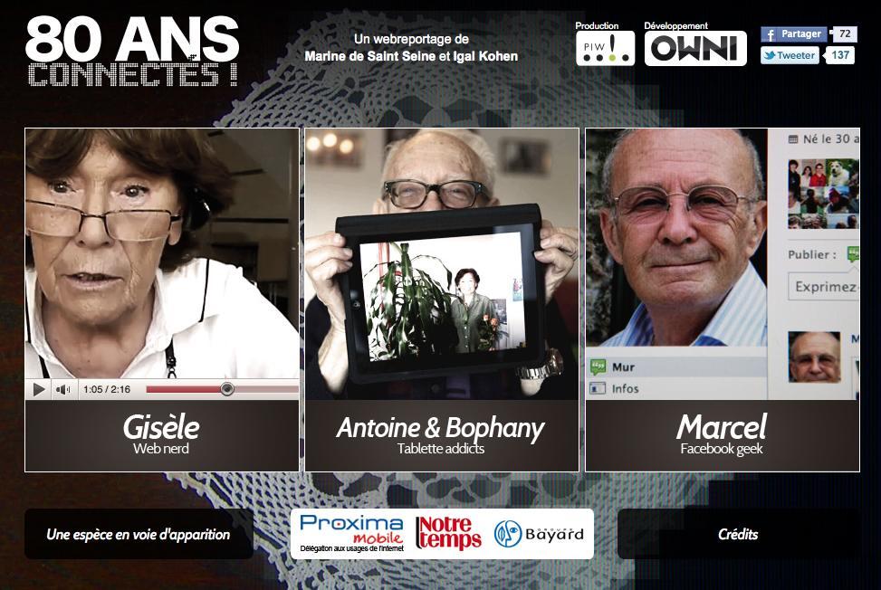 Seniors – le numérique comme rempart à l'isolement ?