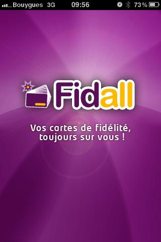 Fidall, la dématérialisation des cartes de fidélités.