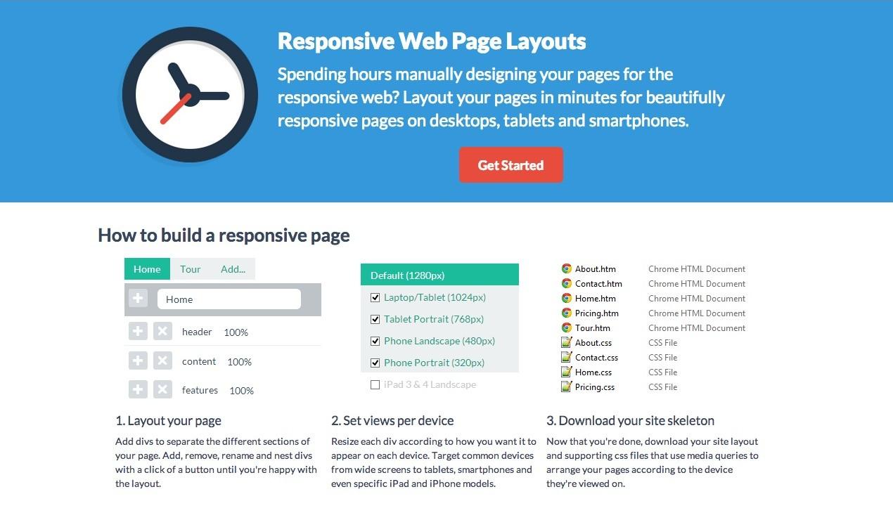 Créez un layout responsive en quelques secondes avec ResponsiveWebCSS !