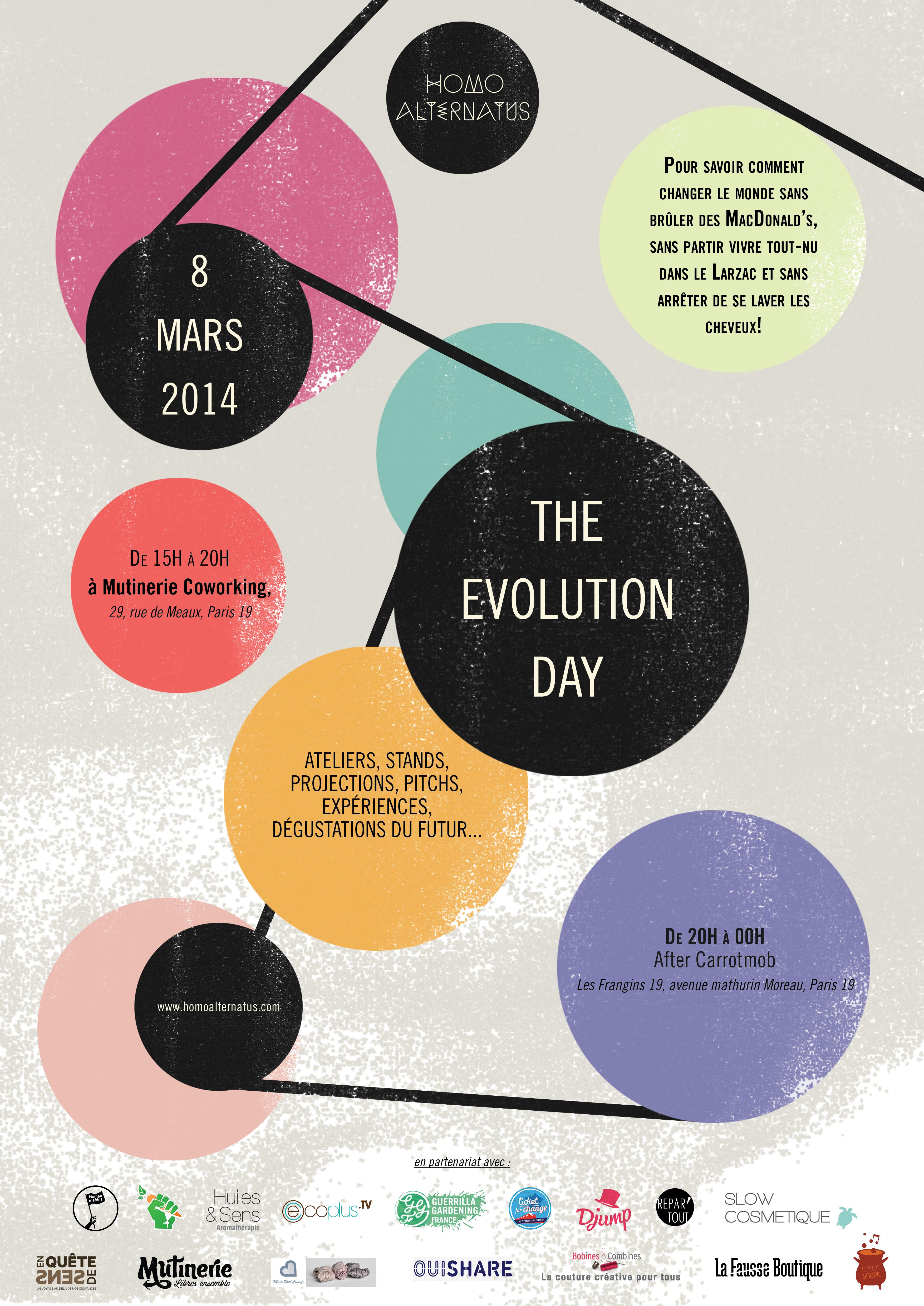 L'innovation sociale au coeur de l'Evolution Day d'Homo Alternatus.