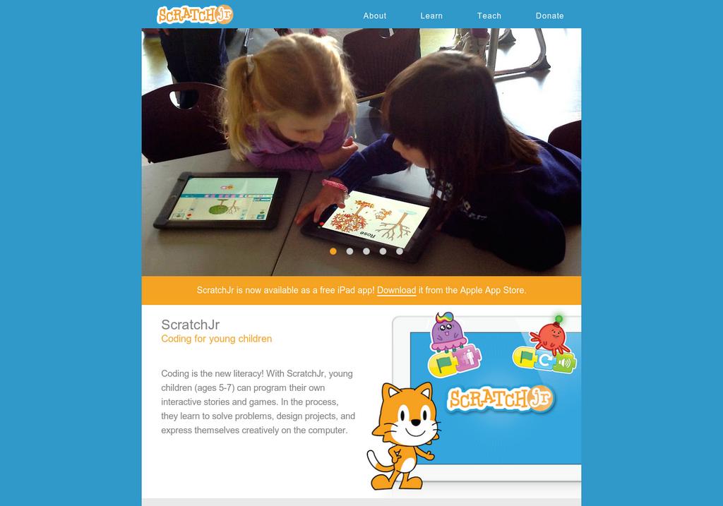 Apprenez à vos enfants les principes du code de manière ludique avec ScratchJR
