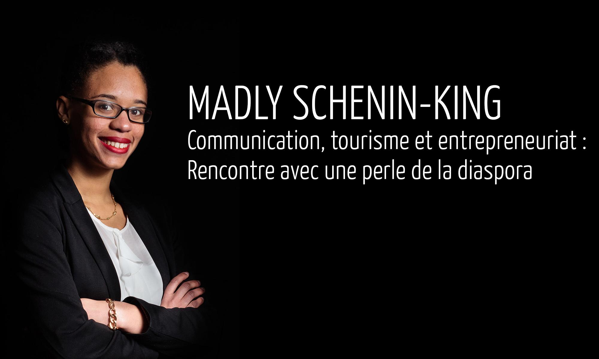 #Startupoutremer – Madly Schenin-King : L'incontournable du tourisme aux Antilles