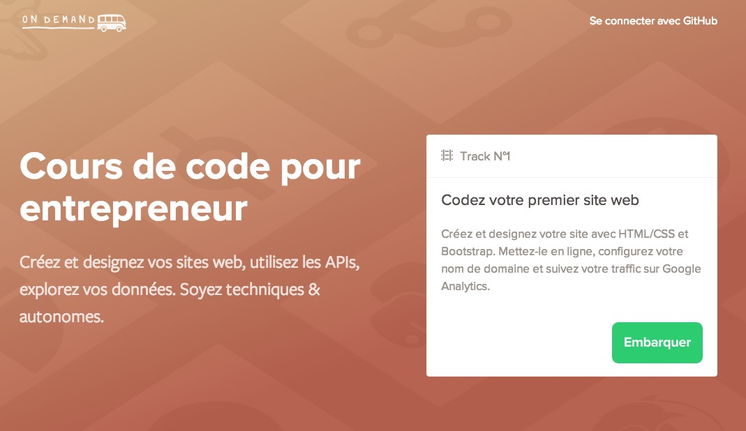 #MOOC / Apprenez à coder avec Le Wagon On Demand.