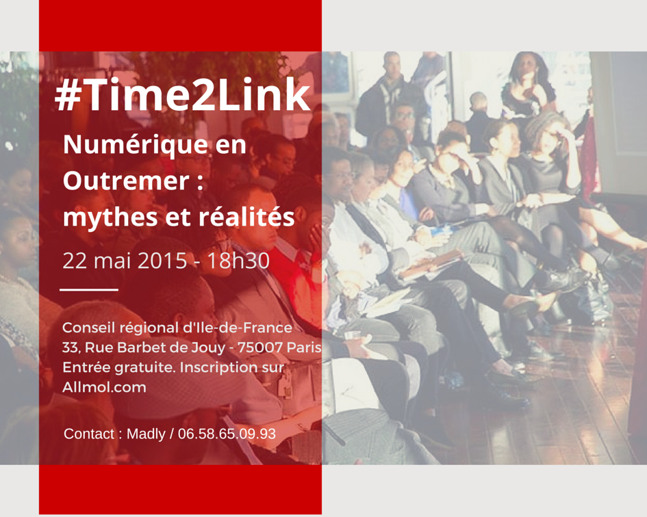 #Startupoutremer – Time2Link revient le 22 mai
