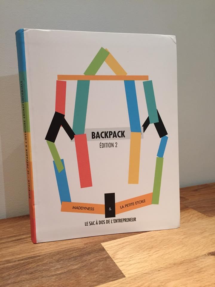BACKPACK édition 2 : dix chapitres pour se préparer à l'aventure entrepreneuriale.