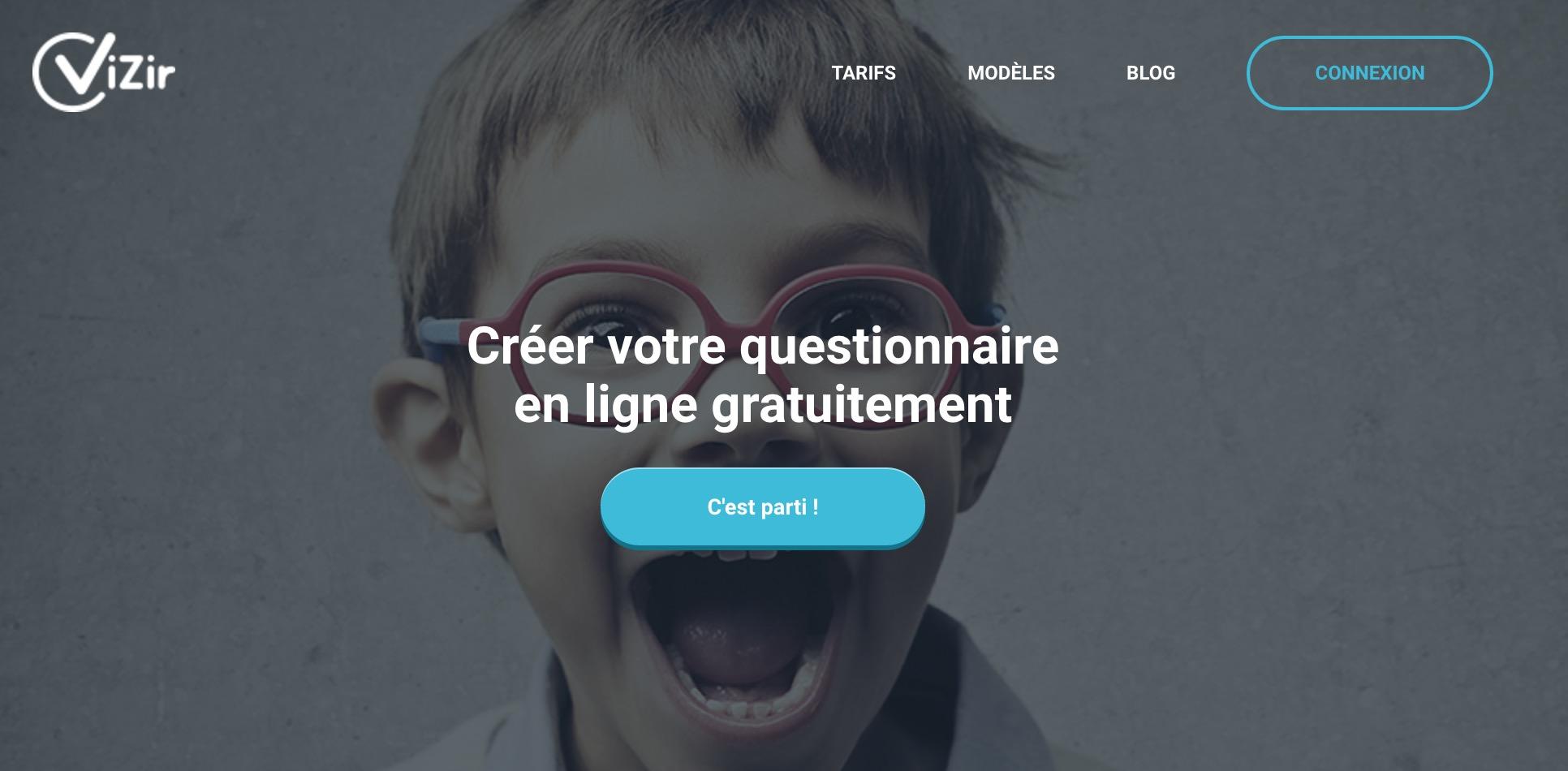 Vizir : Créez un questionnaire intelligent et efficace.