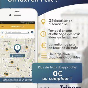 Triperz : TOUS les taxis de France dans une appli !
