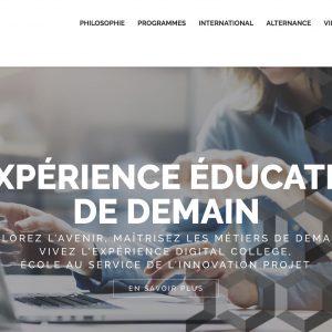 #Education / Digital College : L'expérience éducative de demain.