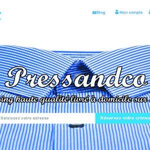 Pressandco: Pressing haute qualité à domicile sur Paris en 30mn