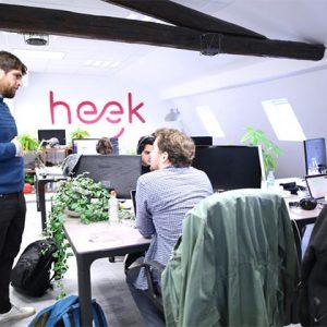 Heek : Hello, je suis un chatbot qui crée des sites internet !