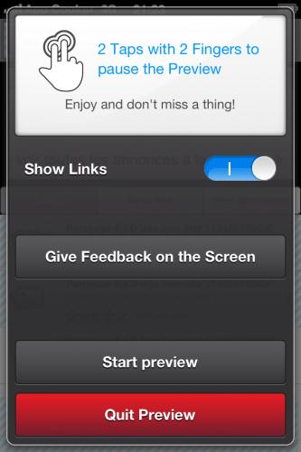 AppCooker - Player feedback