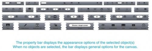 AppCooker - property bar
