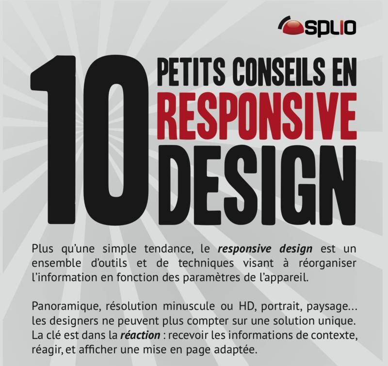 Responsive design - 10 conseils pour une mise en oeuvre efficace. (image)