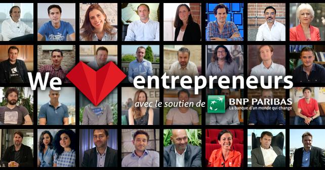 We love entrepreneurs, un film de 52min qui vous donnera la pêche !