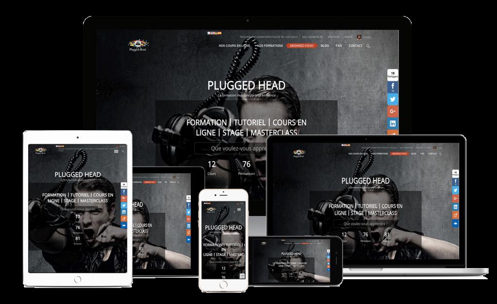 Plugged Head : La formation partout en France & en ligne.