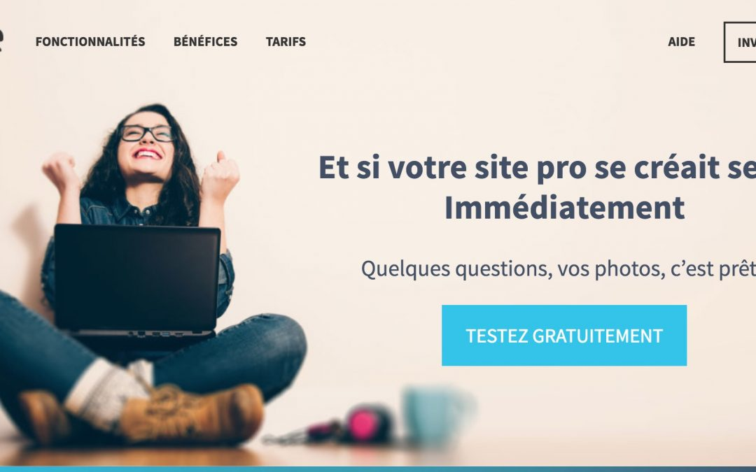 Popsite : Créez votre site internet pro en répondant juste à des questions