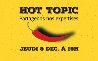 Hot Topic – Présentation de Beta.Gouv le 8 décembre !