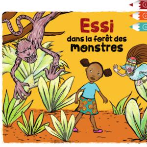 Wakatoon : Essi dans la forêt des monstres (un nouveau livre de coloriage animé).