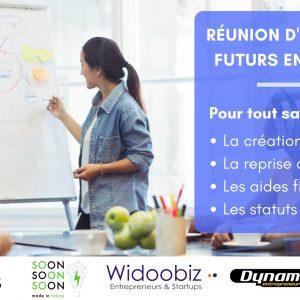 13 mai : Réunion d'information à la création ou reprise d'entreprise