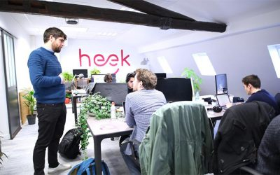 Heek : Hello, je suis un chatbot qui crée des sites internet !